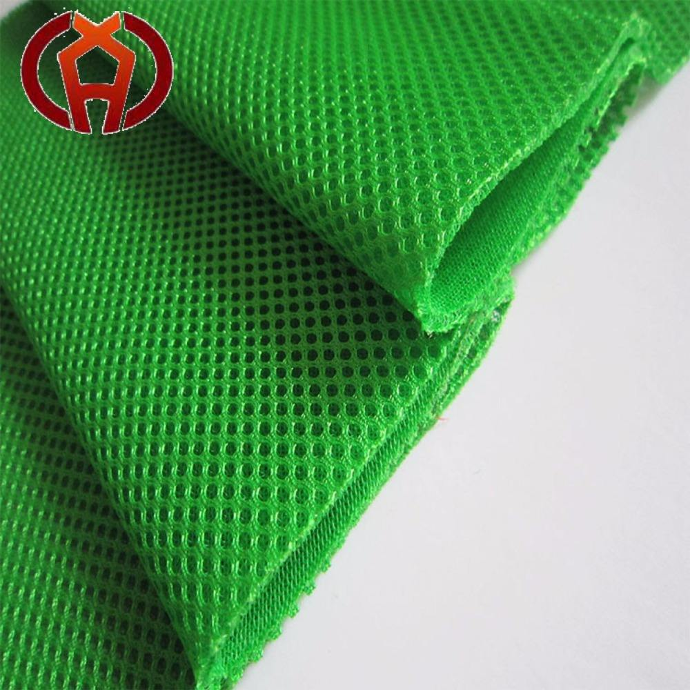 waterproof polyester sandwich net cloth Soft flame retardant 3d mesh fabric