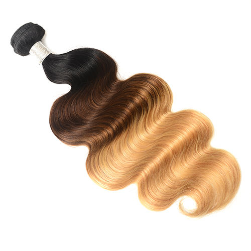Cheap Brazilian Wet And Wavy Hair 1B/4/27 Human Hair Weaving Body Wave 4 Bundles And Frontal Hair Extention