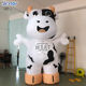 10ft Advertising Inflatable Milk Cow Character