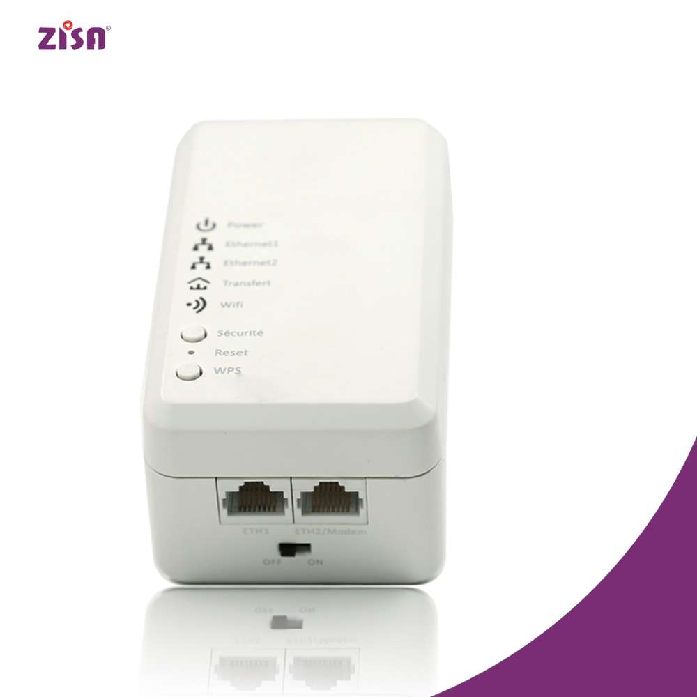 ZISA PA500 500 Mbps PLC Adapter Homeplug Powerline Ethernet Adapter