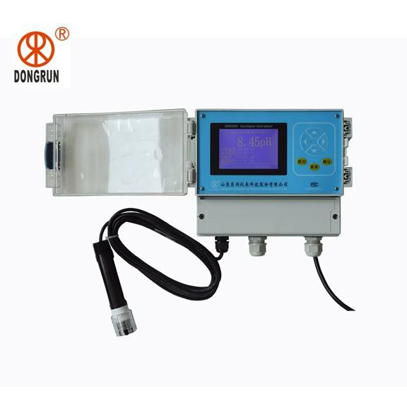 CE confirm online ph and chlorine tester/analyzer for water treatment/aquaculture