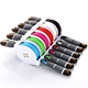 wholesale mini Retractable cable for iphone usb cable with led light for iphone