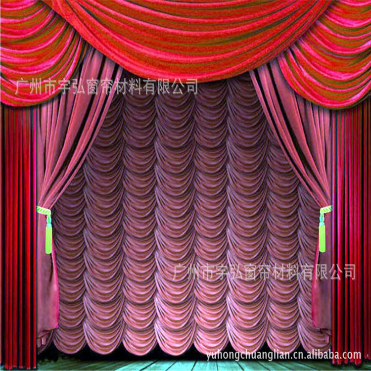 hot selling wedding stage build water curtain wholesale for international