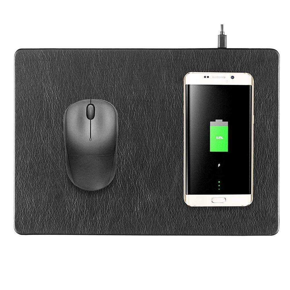 2in1 mobile phone fast charging wireless charger mouse pad