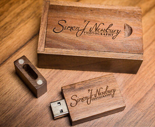 Wholesale High Speed customised dark wood usb 16gb 32 GB usb 3.0 Walnut flash drive wooden usb memory stick
