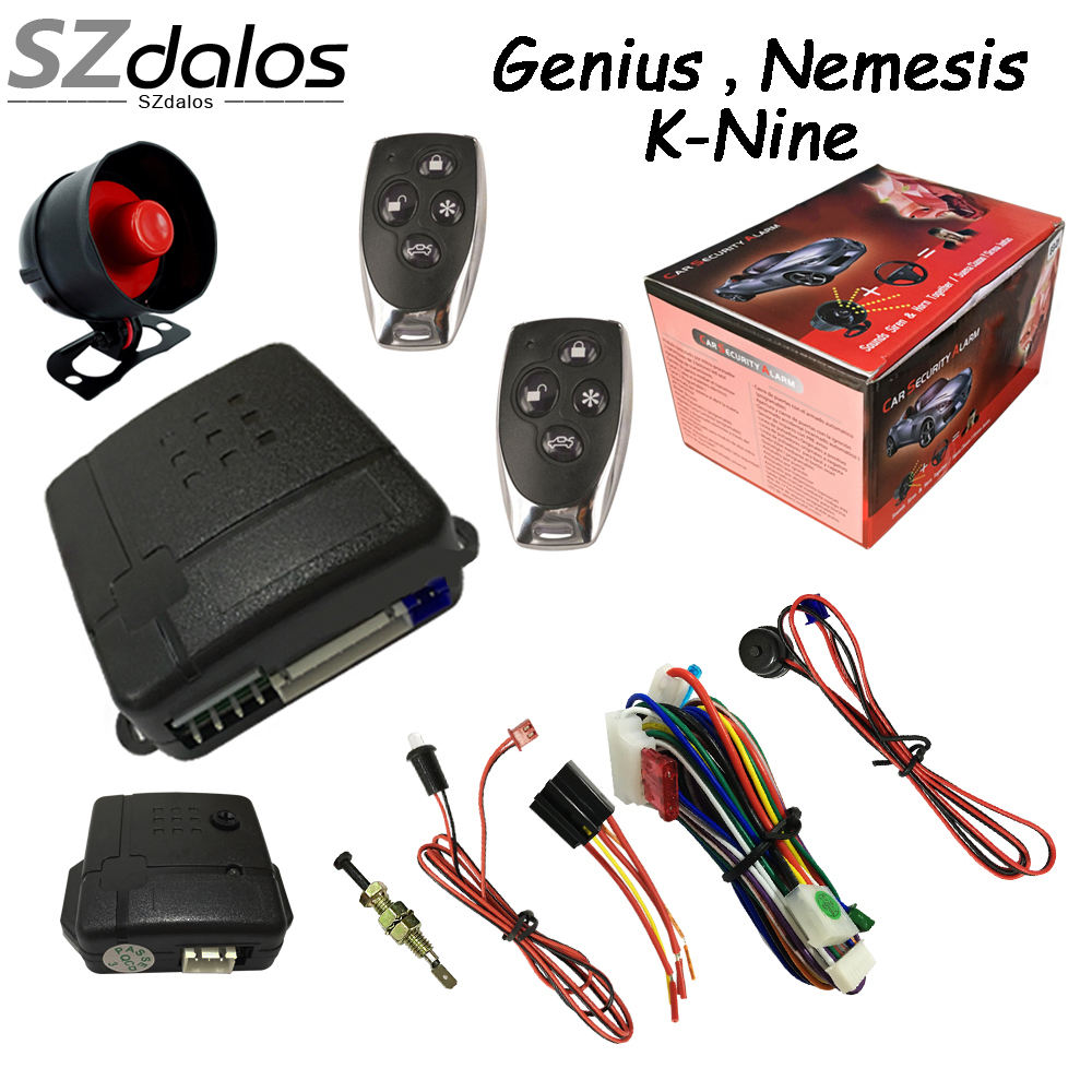 Good quality one way car alarm K9 car alarm system best selling in South America market