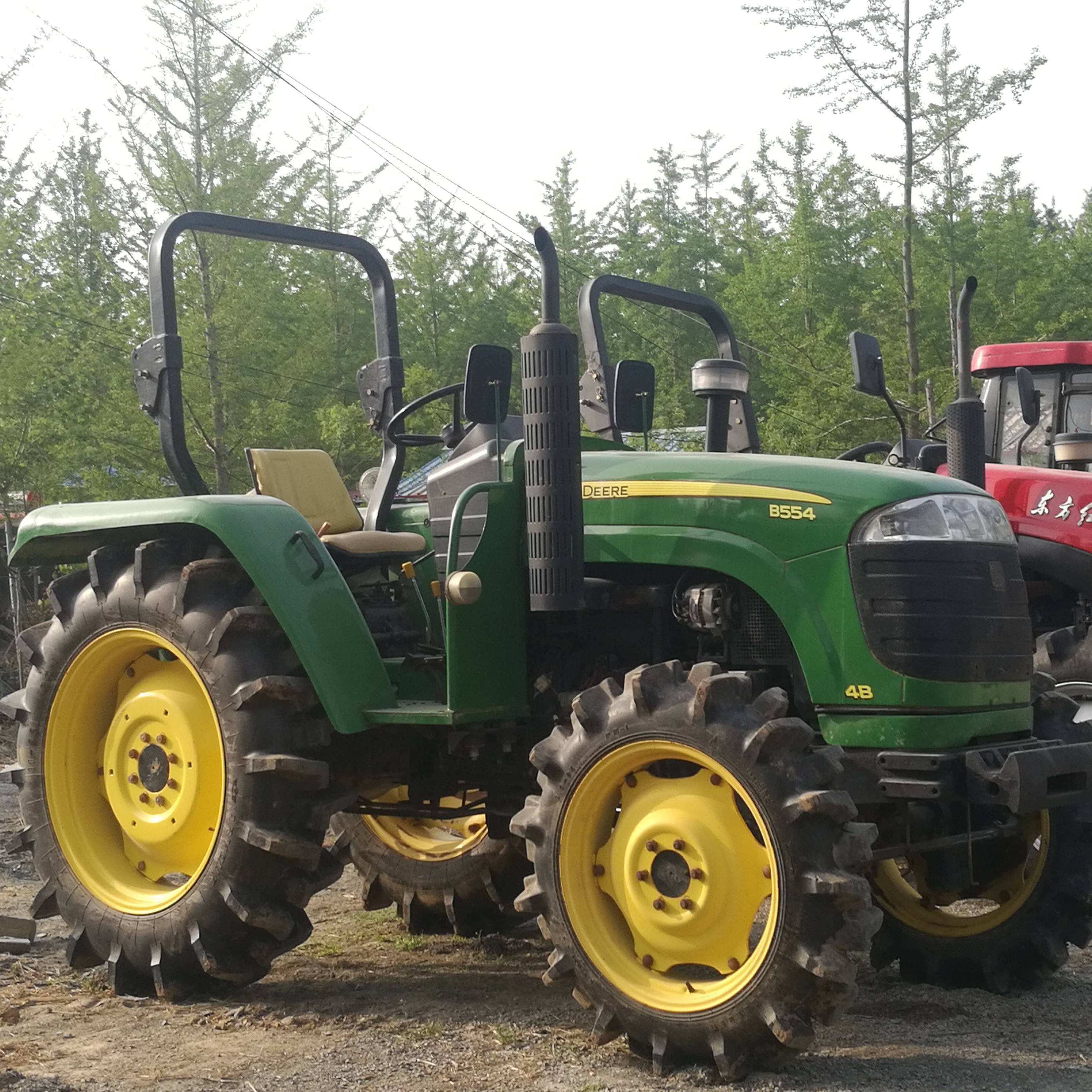 Low price 50HP-120HP 4WD used tractor