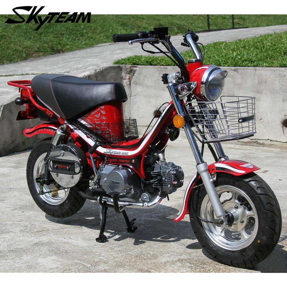 SKYTEAM 50CC 125cc 4 stroke Bubbly Chappy Charly motorcycle (EEC APPROVAL EURO3)