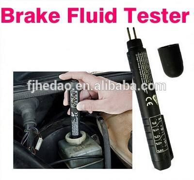 Top-Rated Brake Fluid Tester 5 LED Car Vehicle portable brake tester