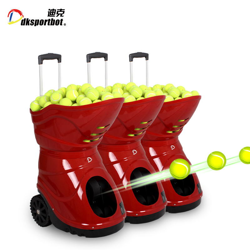 12 years manufacturer for DT5 tennis ball shooting machine/Throwing/Pitching/Training
