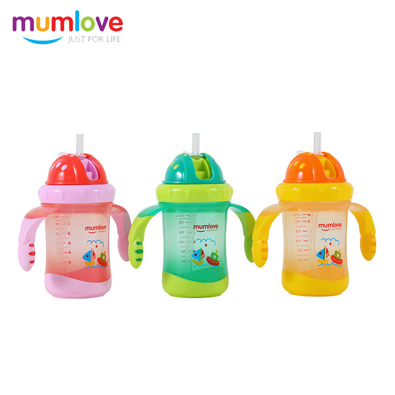 200ml PP Baby training water cup