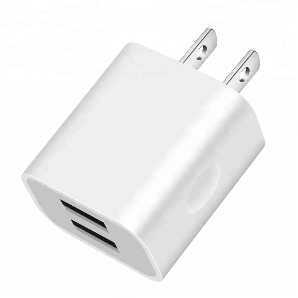 5V 2.1A dual USB Fast Charger Home Travel Charger Adapter for iphone Samsung HTC LG Sony Nokia LED Speaker USB Wall Charger