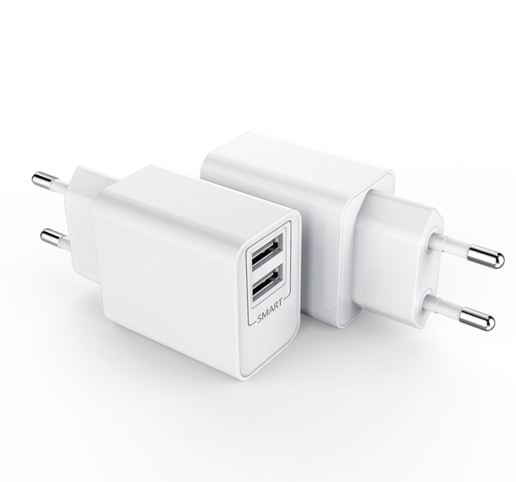 AC DC USB Charger 5 V 2.1A Dual USB Power Adaptor