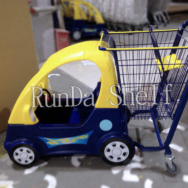 kids shopping trolley with toy car seat