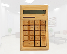 High Quality Natural Bamboo Citizen Calculator