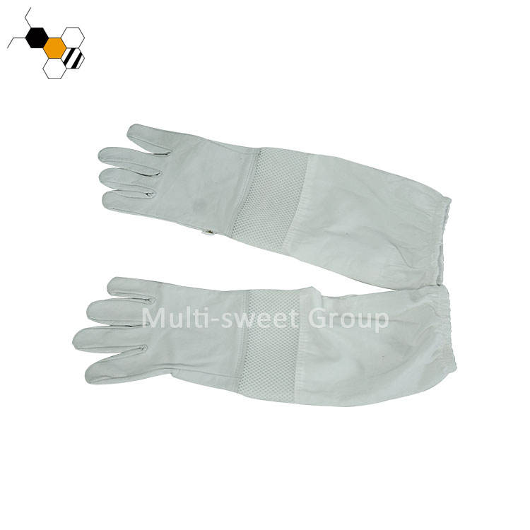 Beekeeping Beekeeper Protection Goatskin Glove for Sale