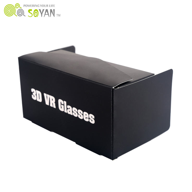 cheap price and popular for 3D VR glasses with DIY 3D Google Cardboard VR