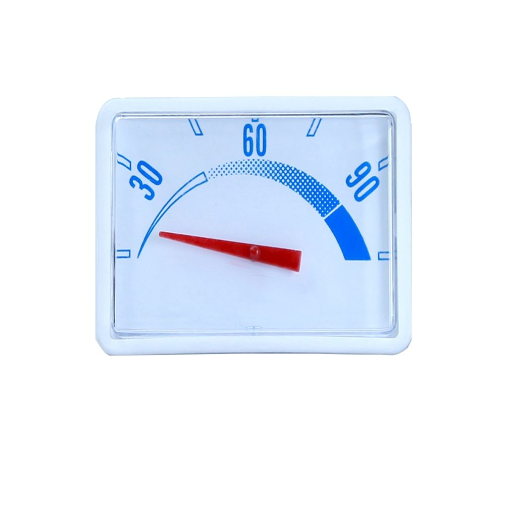Safe and reliable hot water heater spare parts plastic thermometer
