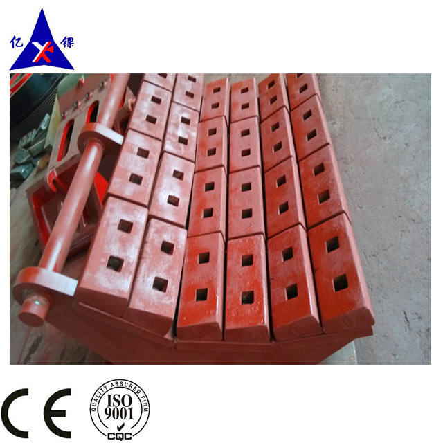 impact crusher wear plate china with high manganese steel