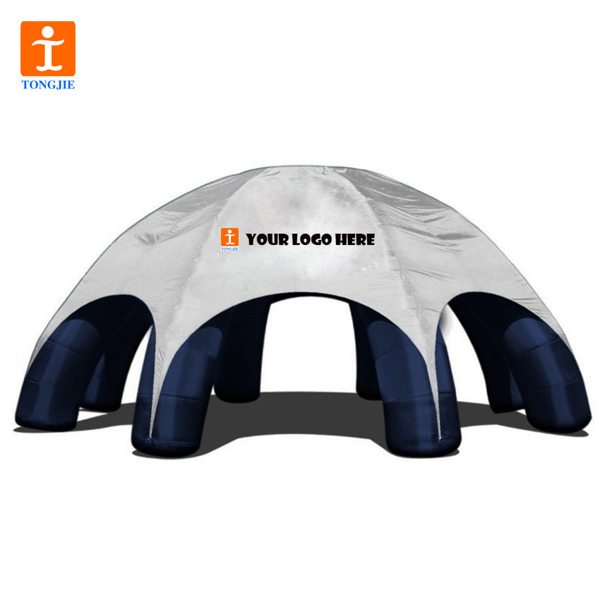TJ Custom Dye Sublimation High Quality Portable Inflatable Tents for events/ Air Tight Inflatable Dome Tent for promo