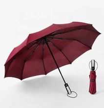 Wholesale High Quality 23 Inch 10K Full Automatic 3 Fold Windproof Umbrella