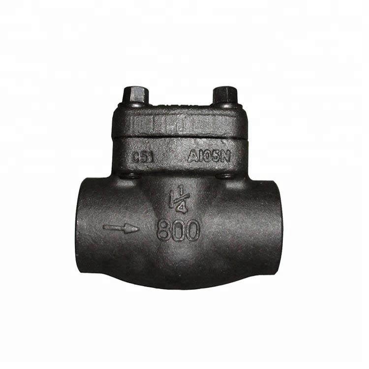 Forged tyepe swing check valve bolt bonnet non-return valve