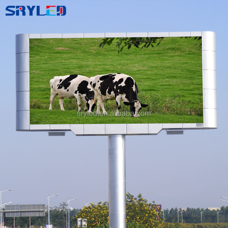 Video Display Function and Outdoor Usage P8 LED Billboard Digital Screen