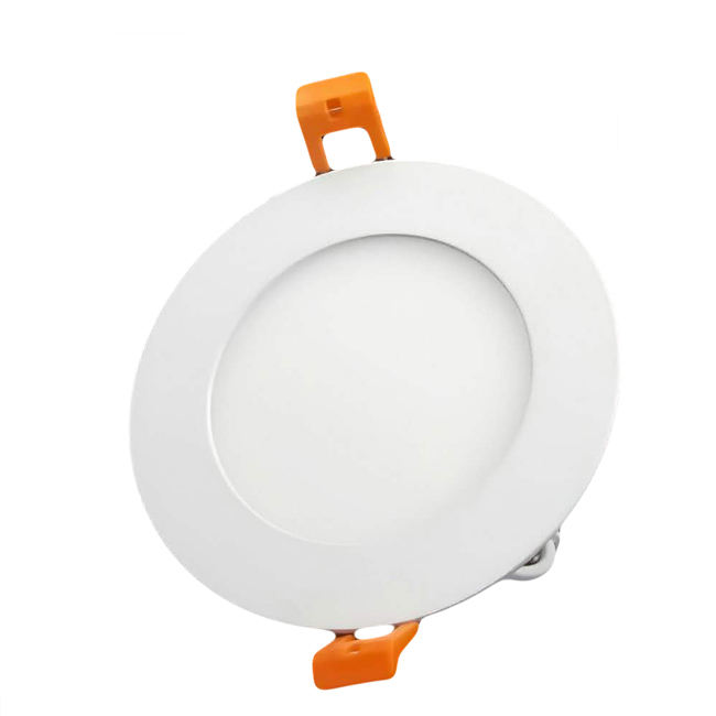 Factory low price AC85-265V 3W 4W 6W Round LED Flat Panel Lighting Ceiling Light