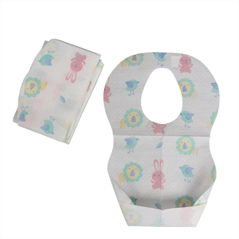 Custom Made Disposable Baby Bibs Wholesale