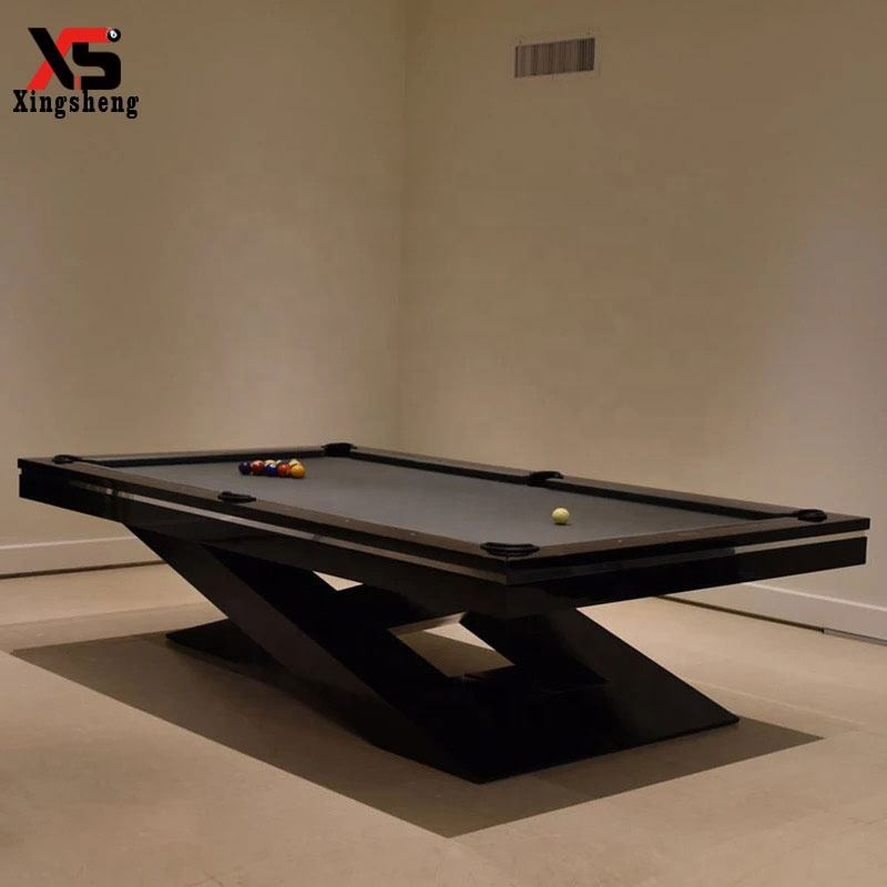 Wholesale 9ft pub use fashion sports kids playing modern design pool table for steel legs