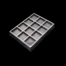 Disposable Plastic PET Chocolate Packing Trays transparent Chocolate Blister Tray