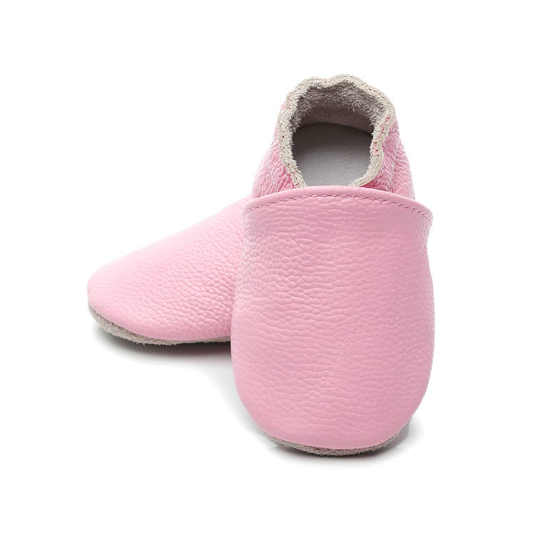 Handmade Genuine Leather Baby Shoes Soft Sole Slip On Toddler Baby Moccasins Shoes First Walkers 0-24M