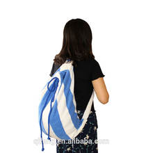 Wholesales 100% Cotton Sex Lady Travel Towel 2 in 1 beach towel bag