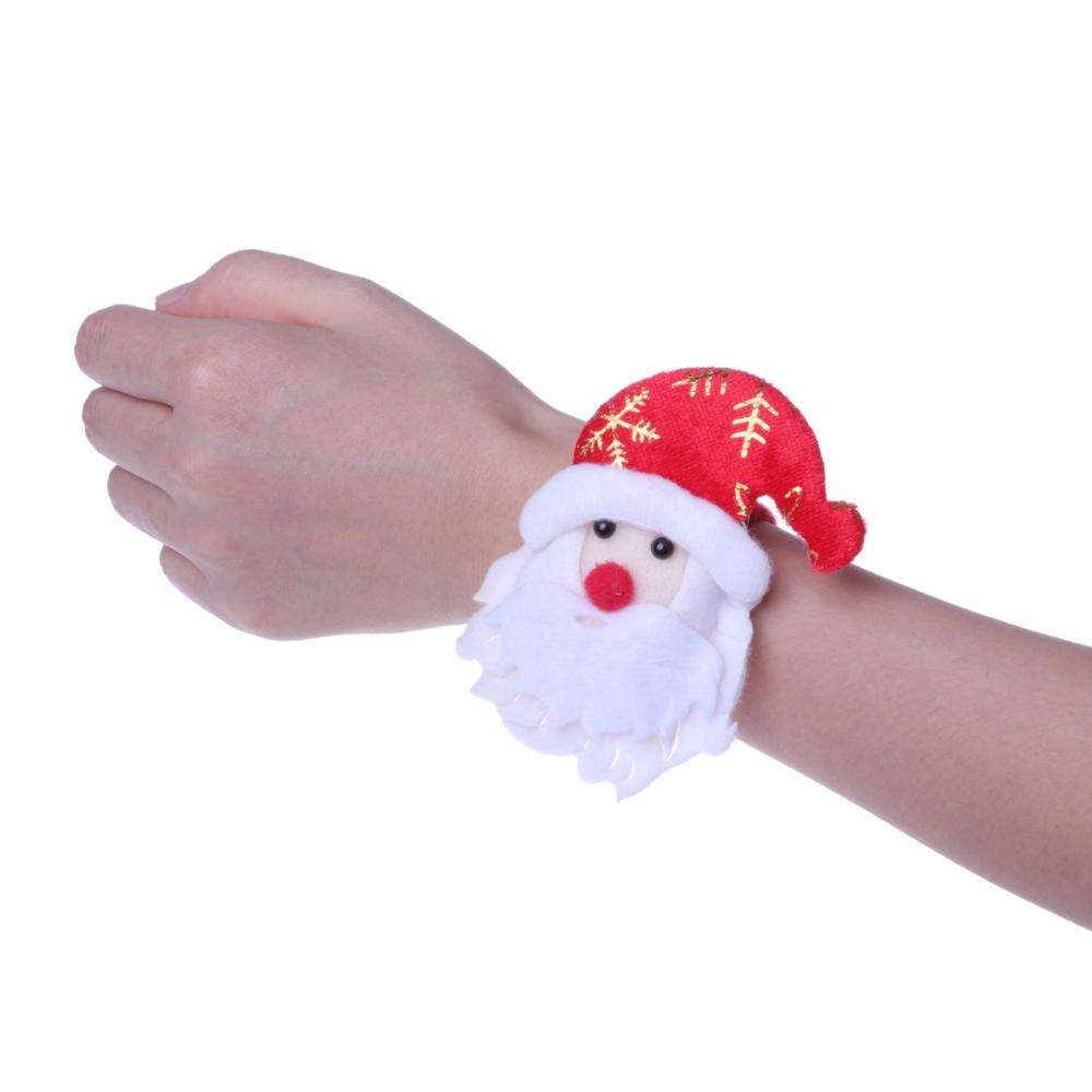OEMPROMO Christmas gift of LED bracelets,Santa Claus, snowman and reindeer