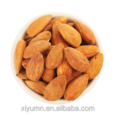 Chineses organic whole roasted almonds salty /origin taste