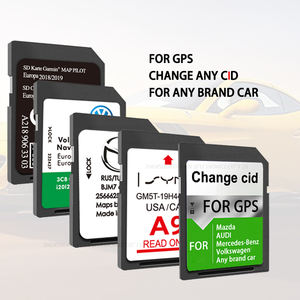 rewrite custom navigation gps change cid changeable writable cid fixed 8GB 32gb memory sd card for nissan renault