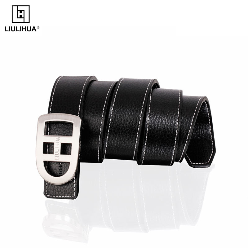 Wholesale Fashion Buckle female Genuine Leather Belt Casual Wide Waist Leather ladies Belt