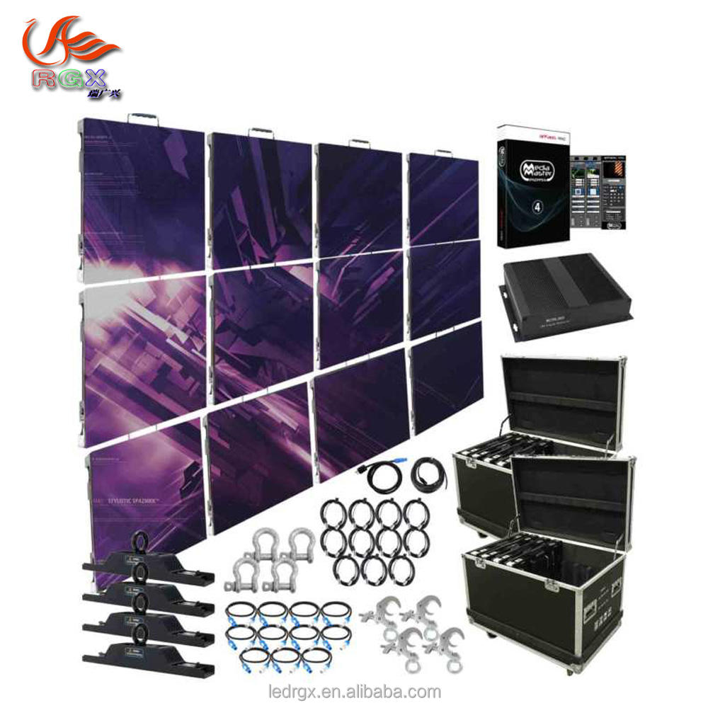 backstage digital led screen P10 indoor modular led video wall