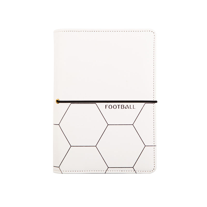 Waterproof Professional Football Gaming Leather Notebook With Zipper