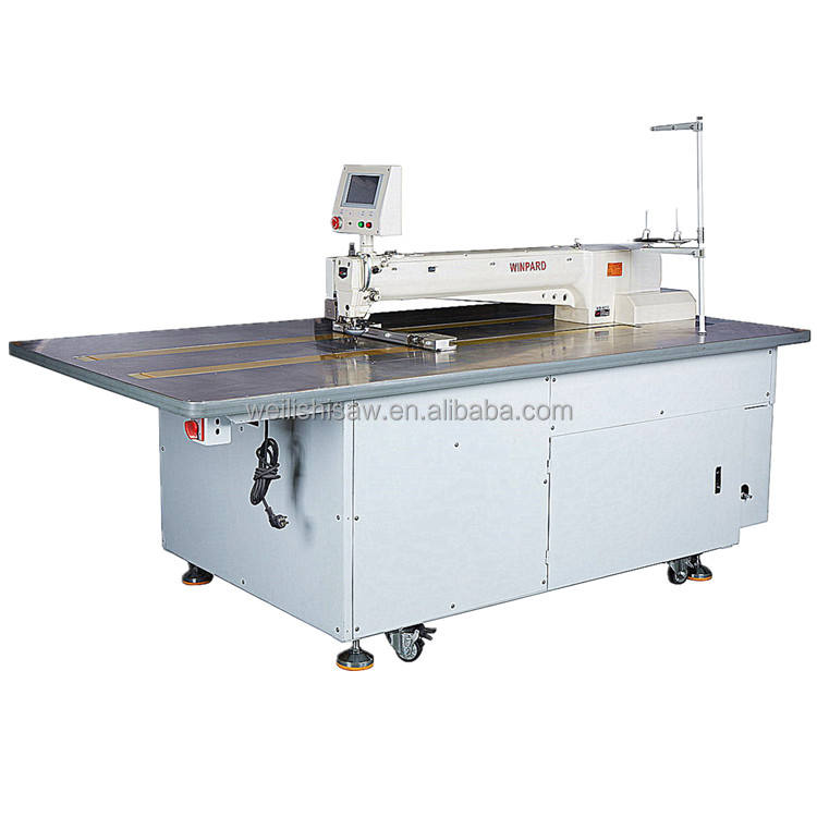 CNC Pattern Template Sewing Machine WB-8012 Industrial Sewing Machine