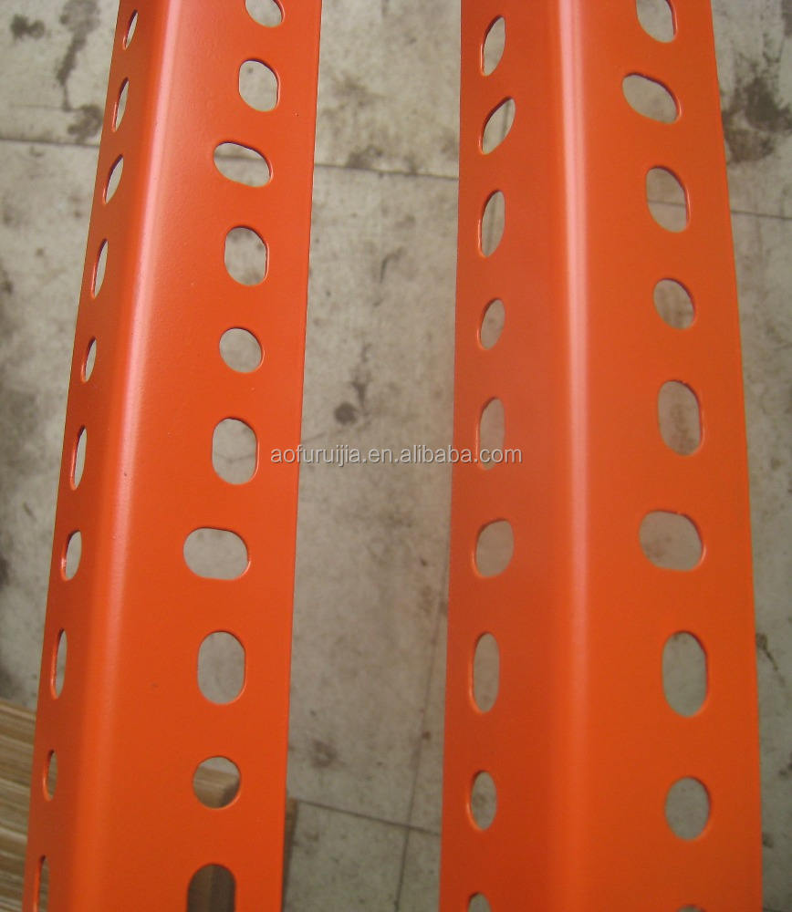 popular power coated steel slotted angle