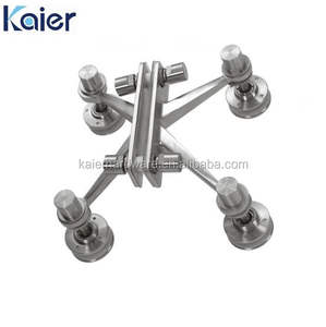 High grade stainless steel glass curtain spider fittings made in China
