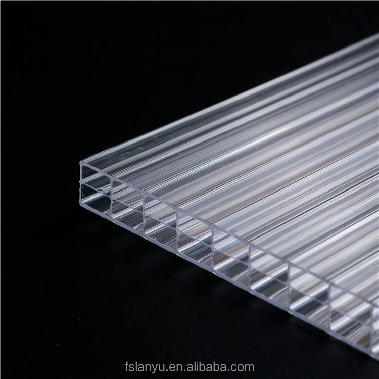 Multiwall Polycarbonate construction protection sheet