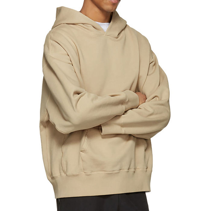 Wholesale Organic Cotton Customised Pullover Hoodies For Printing
