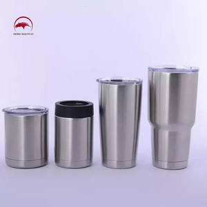 Custom Wholesale Bulk 20oz 30oz Metal Vacuum Insulated Double Wall Stainless Steel Coffee Mug Tumbler With Lid