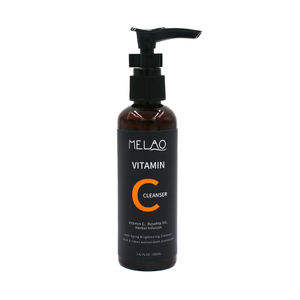 Melao Skin Care Moisturizing Deep Cleaning Purify Shrink Pore Brightening Organic Vitamin C Facial Cleanser Wash