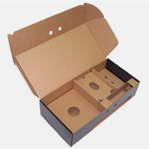 Eco-friendly Customized CardBoard Subscription Box Packaging CMYK Printed Corrugated Shipping Boxes with Insert