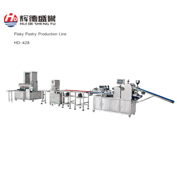 Flaky pastry equipment/Flaky Pastry Production Line/Food equipment for pastry flaky bingsu paste machine