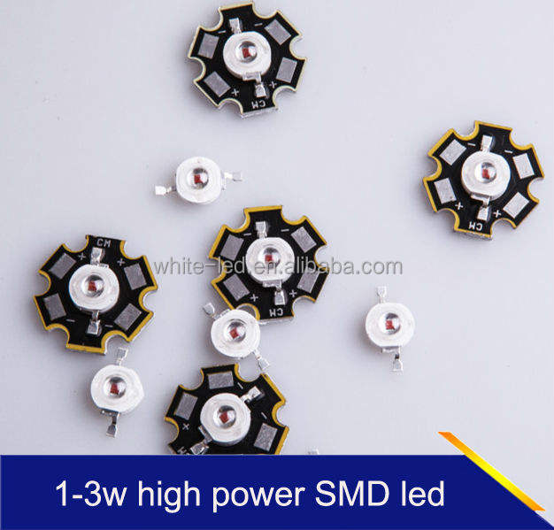 3w Led 1w 2w 3w With Epistar High Power Led