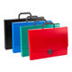 File Folder Portfolio Case A4 Portable Plastic Portfolio Case with Handle